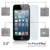 Product image for Tempered Glass Screen Protector for 5.5 inch Apple iPhone 6 Plus   CX Computer Superstore