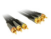 Product image for 0.5M High Grade RCA A/V Cable with OFC | CX Computer Superstore