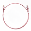 Image for 0.25m Cat 6 Ultra Thin LSZH Ethernet Network Cables: Pink CX Computer Superstore
