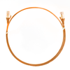 Image for 0.25m Cat 6 Ultra Thin LSZH Ethernet Network Cables: Orange CX Computer Superstore