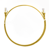 Image for 2.5m Cat 6 RJ45 RJ45 Ultra Thin LSZH Network Cables  : Yellow CX Computer Superstore