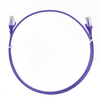 Image for 2m Cat 6 Ultra Thin LSZH Ethernet Network Cables: Purple CX Computer Superstore