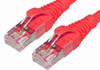 Product image for Comsol 1m 10GbE Cat 6A S/FTP Shielded Patch Cable - Red   CX Computer Superstore