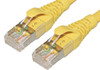 Product image for Comsol 1m 10GbE Cat 6A S/FTP Shielded Patch Cable - Yellow   CX Computer Superstore
