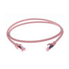 Image for 15m Cat 6A S/FTP LSZH Ethernet Network Cable. Pink CX Computer Superstore