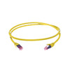 Image for 0.75m Cat 6A S/FTP LSZH Ethernet Network Cable. Yellow CX Computer Superstore