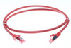 Image for 1m Cat 6A S/FTP LSZH Ethernet Network Cable. Red CX Computer Superstore