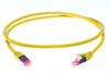 Image for 2m Cat 6A S/FTP LSZH Ethernet Network Cable. Yellow CX Computer Superstore