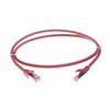 Image for 2.5m Cat 6A S/FTP LSZH Ethernet Network Cable. Red CX Computer Superstore