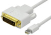 Product image for Comsol 1m Mini DisplayPort Male to DVI-D Single Link Male Cable | CX Computer Superstore