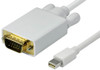 Product image for Comsol 1m Mini DisplayPort Male to VGA Male Cable | CX Computer Superstore