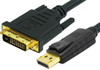 Product image for Comsol 1m DisplayPort Male to Single Link DVI-D Male Cable | CX Computer Superstore