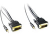 Product image for 2M DVI-D to DVI-D Cable with 3.5mm Audio | CX Computer Superstore