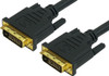 Product image for Comsol 1m DVI-D Digital Dual Link Cable - Male to Male   CX Computer Superstore