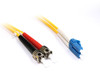 Product image for 15M LC-ST OS1 Singlemode Duplex Fibre Optic Cable | CX Computer Superstore