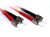 Product image for 1M ST-ST OM1 Multimode Duplex Fibre Optic Cable | CX Computer Superstore