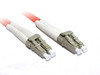 Product image for 2M LC-LC OM2 50/125 Multimode Duplex Fibre Optic Cable | CX Computer Superstore