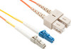 Product image for Comsol 1m Mode Conditioning Patch Cable LC Equipment (Single-Mode) to SC Cable Plant (Multi-Mode) LSZH 62.5/125 OM1 | CX Computer Superstore