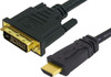 Product image for Comsol 1m HDMI Male to DVI-D Male Cable   CX Computer Superstore