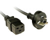Product image for 2M C19 Power Cord With 10A Plug | CX Computer Superstore