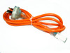 Product image for 2M Medical Power Cable Orange | CX Computer Superstore