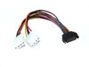 Product image for 20CM SATA M  To 2 X Molex Power | CX Computer Superstore