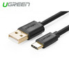 Product image for 1m USB 2.0 Type A Male to USB 3.1 Type-C Male Cable White | CX Computer Superstore