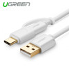Product image for 1m USB 2.0 to type C + micro USB cable White | CX Computer Superstore