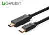 Product image for 1m USB Type C Male to USB 2.0 Mini 5Pin Male Cable Black | CX Computer Superstore
