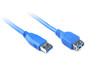 Product image for 0.5M USB 3.0 AM/AF Cable | CX Computer Superstore