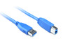 Product image for 0.5M USB 3.0 AM/BM Cable | CX Computer Superstore