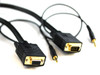 Product image for 2M SVGA HD15M/F Cable With 3.5MM Audio | CX Computer Superstore