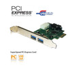 Product image for 4 Port USB3.0 PCI-E Card (2 Ext + Dual Port Internal Connector) | CX Computer Superstore
