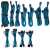 Image for Corsair Premium Individually Sleeved PSU Cables Pro Kit - Blue/Black CX Computer Superstore