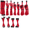 Image for Corsair Premium Individually Sleeved PSU Cables Pro Kit - Red CX Computer Superstore