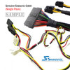 Product image for Seasonic Modular cable for models of Seasonic Power Supply (Single)   CX Computer Superstore