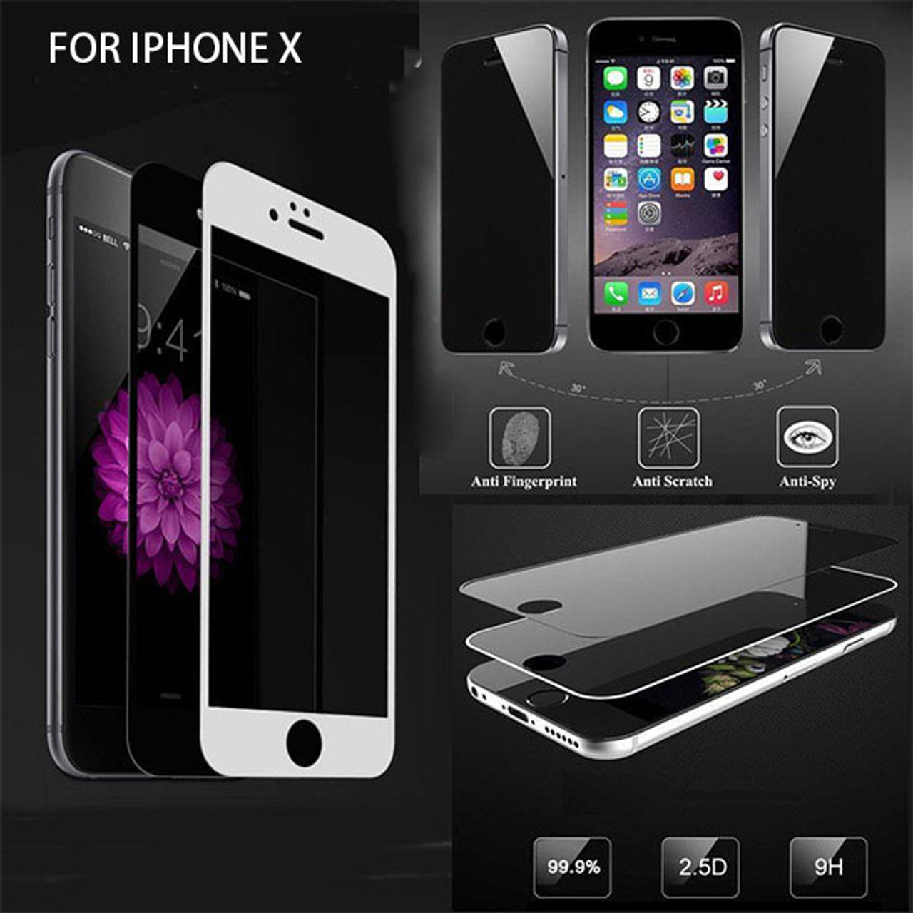 Product image for iPhone X Tempered Glass Screen Protector | CX Computer Superstore