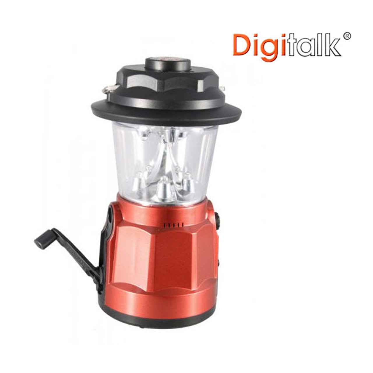 Product image for Portable Dynamo LED Lantern Radio with Built-In Compass | CX Computer Superstore