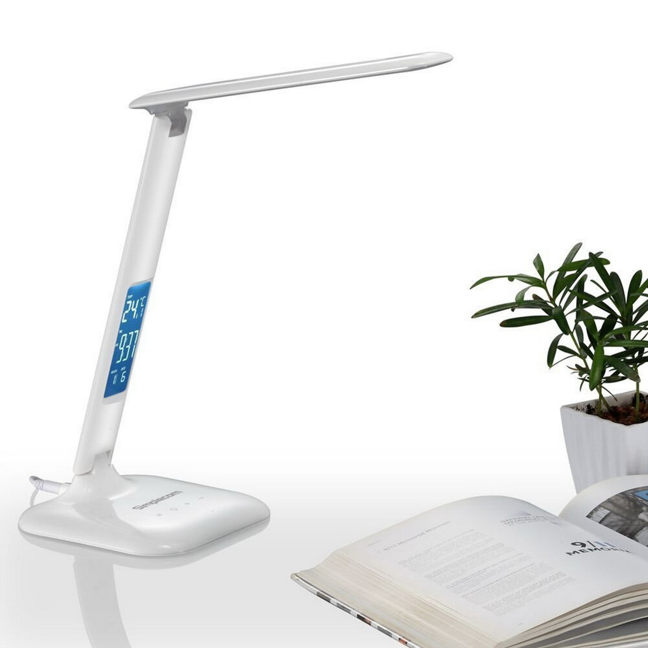 Product image for Simplecom EL808 Dimmable Touch Control LED Desk Lamp | CX Computer Superstore