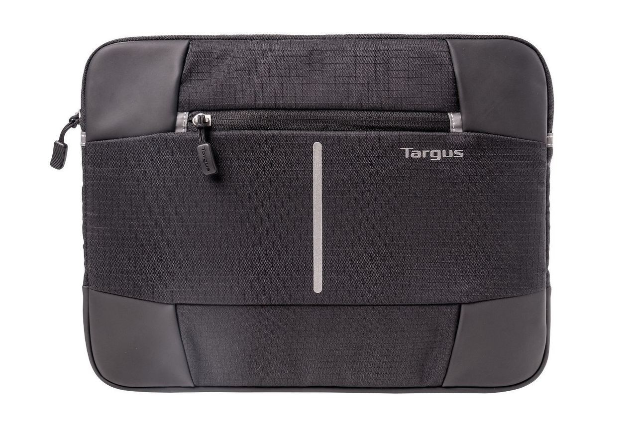 Product image for Targus 12.1in Bex II Laptop Sleeve - Black- Perfect for 12.5in Surface | CX Computer Superstore