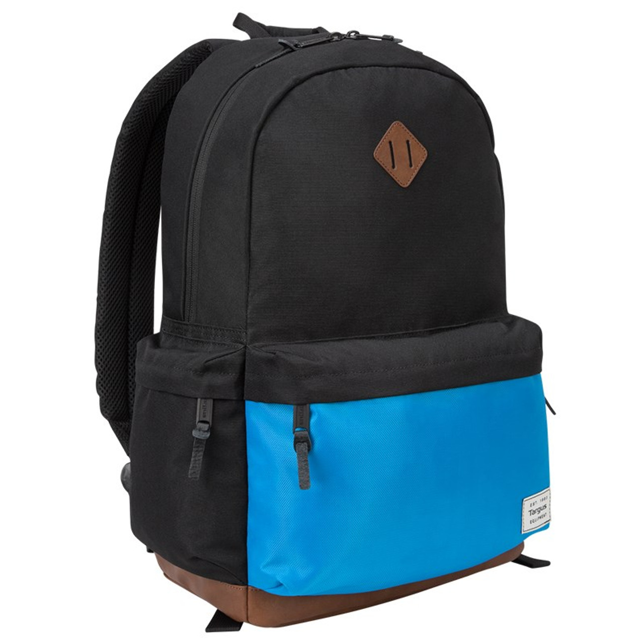 Image for Targus 15.6in Strata II Backpack - Black/Blue CX Computer Superstore