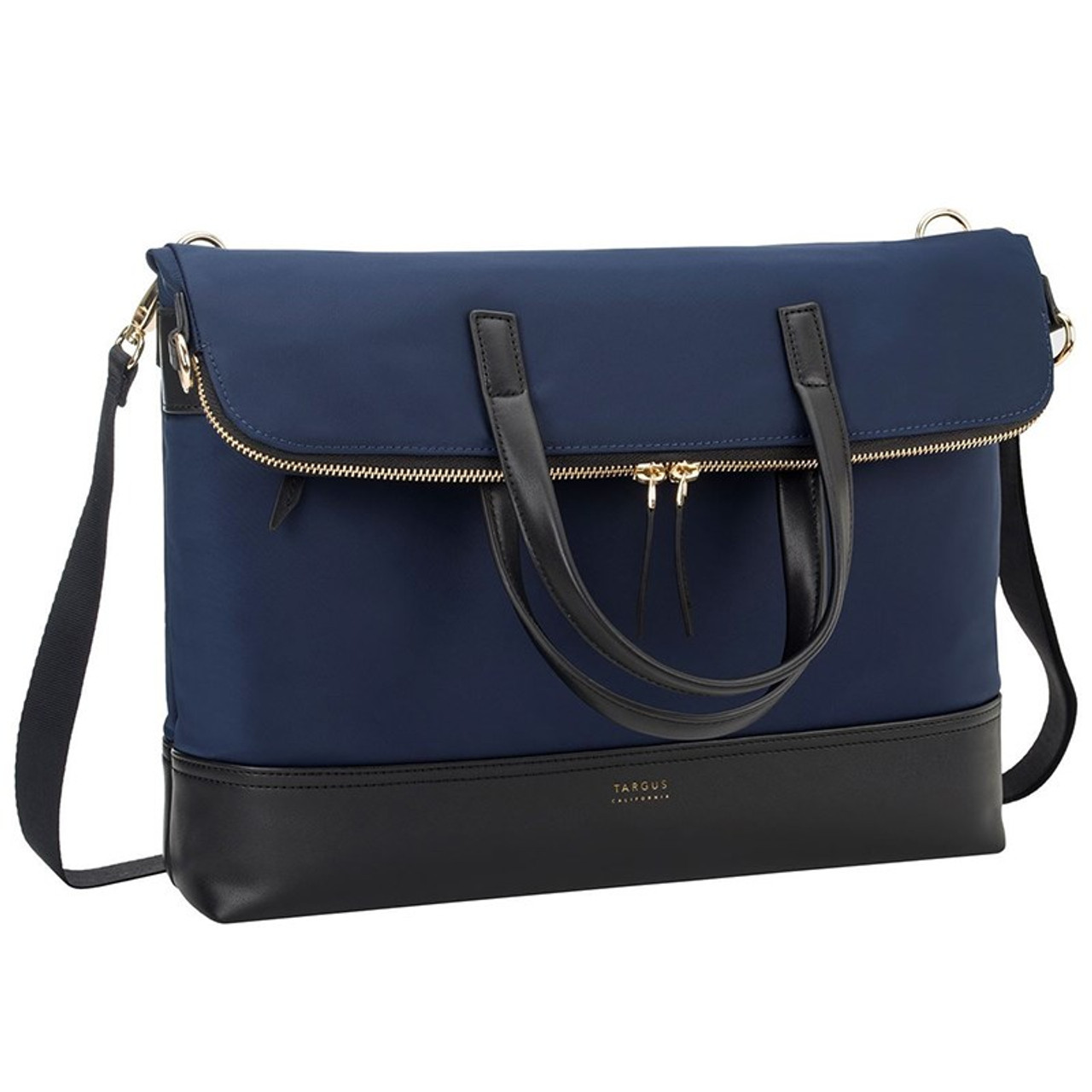 Image for Targus 15in Newport Convertible 2-in-1 Tote/Messenger Bag - Navy CX Computer Superstore
