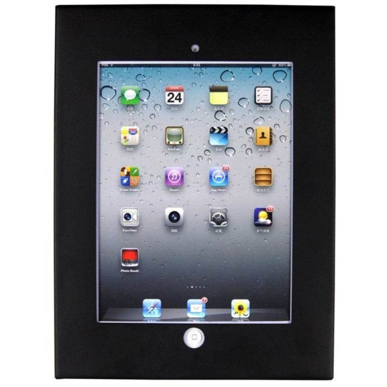 Image for Brateck Wall Mount Anti-Theft Secure Enclosure for iPad - PAD12-01A CX Computer Superstore