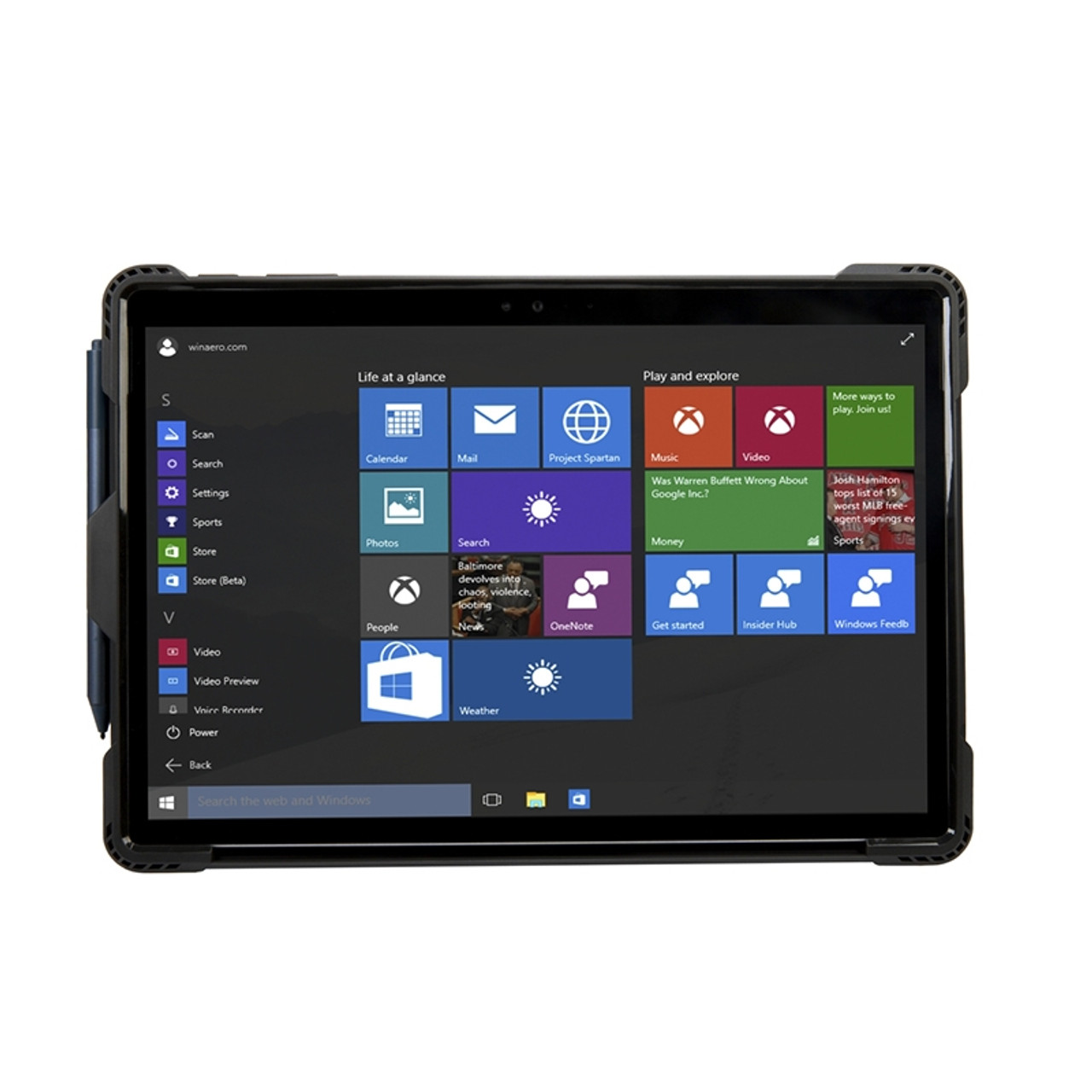 Image for Targus SafePort Rugged Case for Surface Pro 4 / 5 / 6 CX Computer Superstore