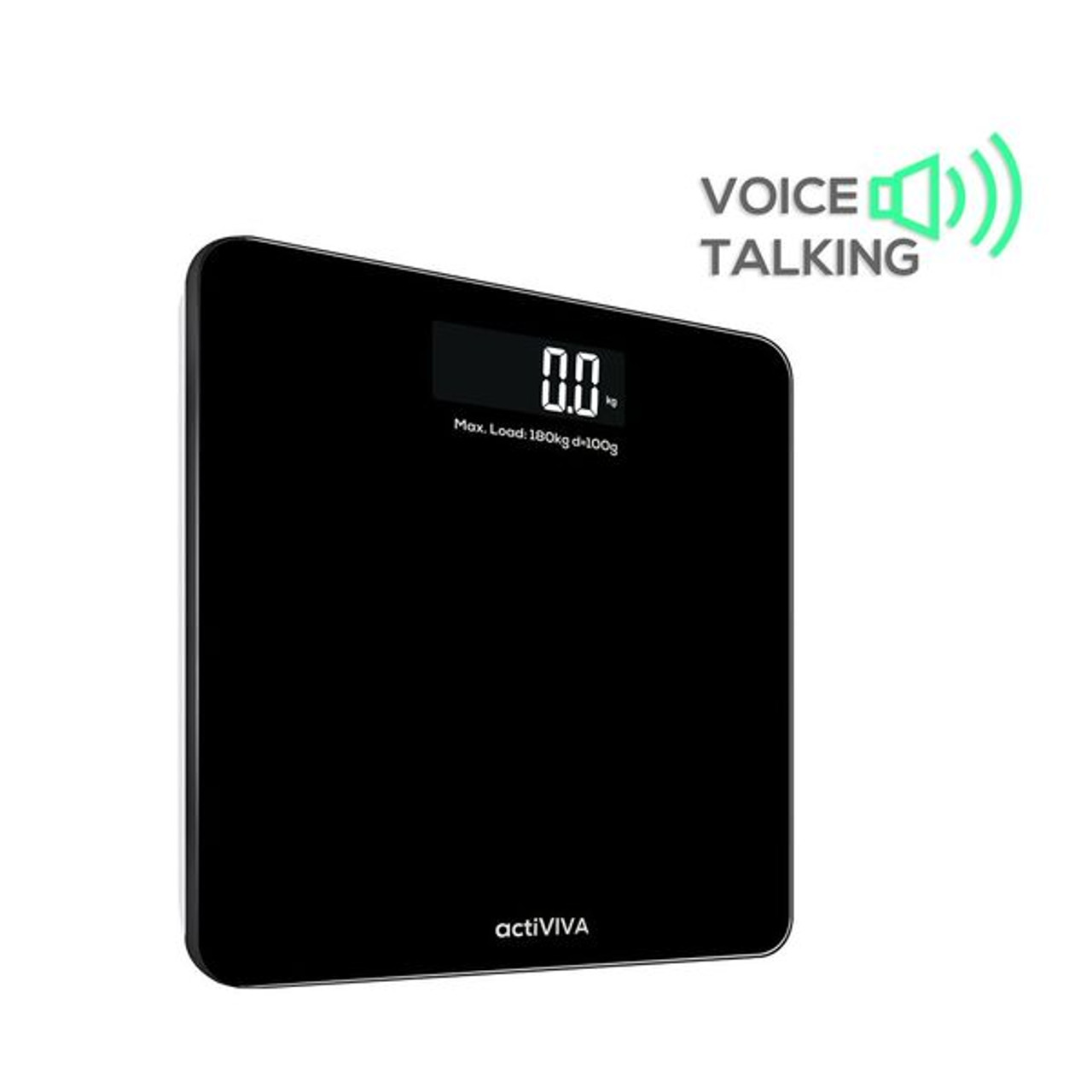 Product image for mBeat actiVIVA Electronic Talking Digital Scale | CX Computer Superstore