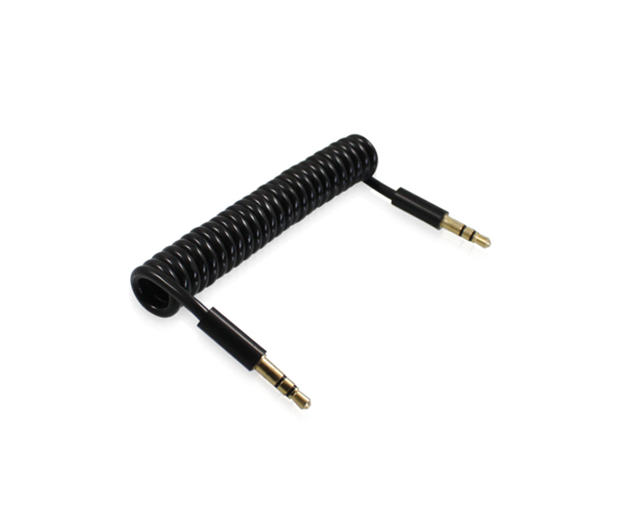 Product image for 1M Coiled 3.5mm Audio Cable | CX Computer Superstore