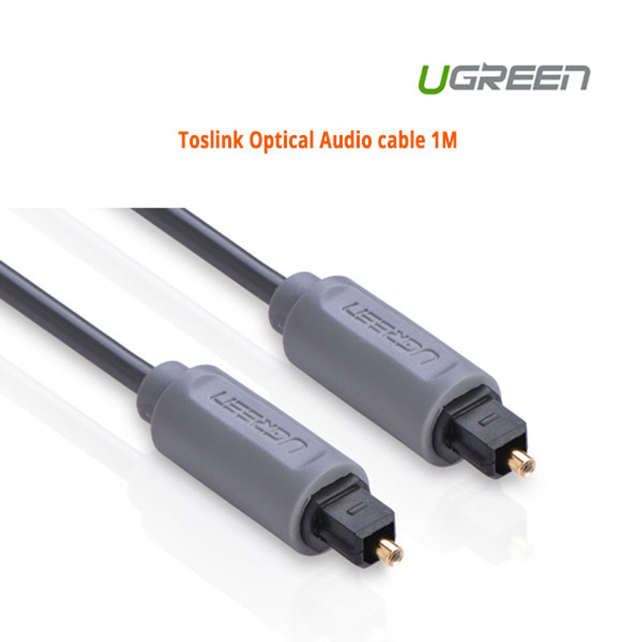 Product image for Toslink Optical Audio cable 1M 10768 | CX Computer Superstore