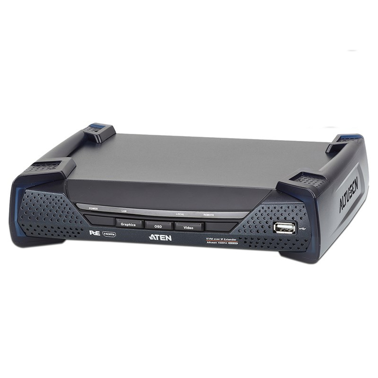 Image for ATEN KE8952R 4K HDMI Single Display KVM over IP Receiver with PoE CX Computer Superstore