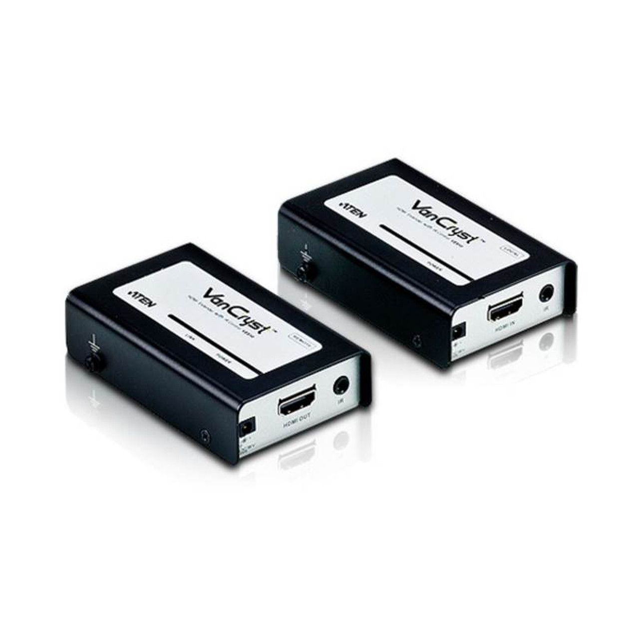 Image for ATEN VanCryst VE810 HDMI Over Cat5 Video Extender with Audio and IR Control CX Computer Superstore