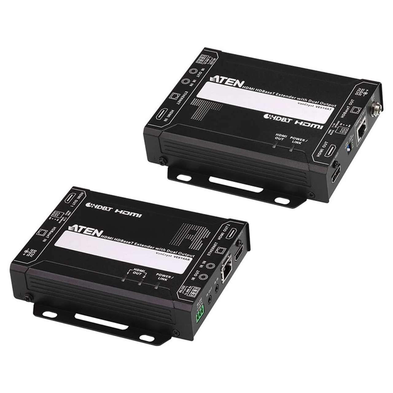 Image for ATEN VE814A HDMI HDBaseT Extender with Dual Output - 4K @ 100m CX Computer Superstore